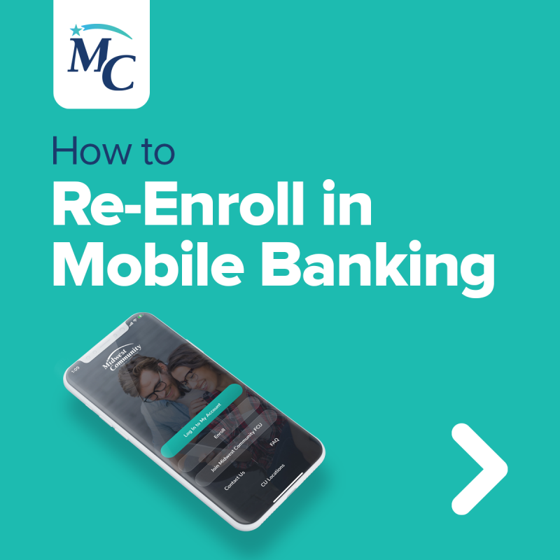 How to Re-Enroll in Mobile Banking