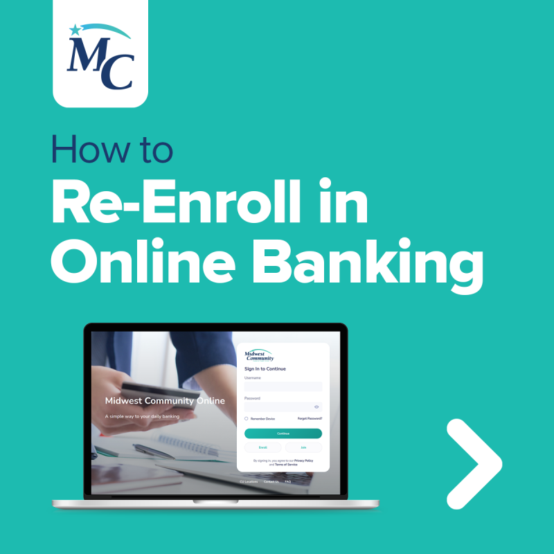 How to Re-Enroll in Online Banking