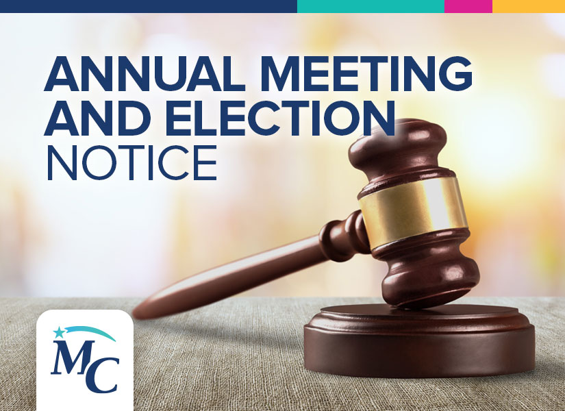 Annual Meeting and Election Notice